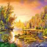 Ý nghĩa phong thủy trong cách chọn tranh sơn dầu có thể bạn chưa biết
